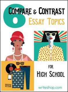 Comparison essay about high school and college